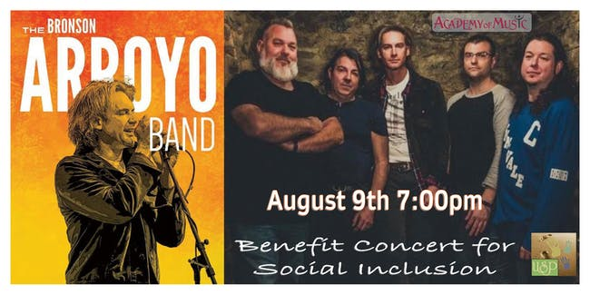 The Bronson Arroyo Band's concert for Social Inclusion