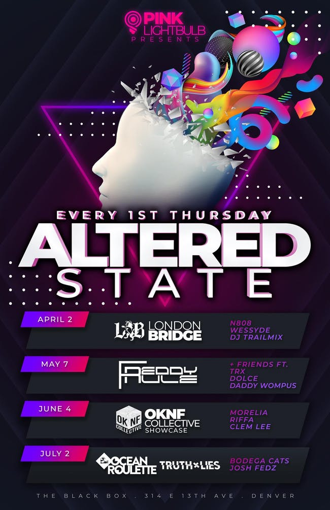 Pink Lightbulb presents Altered State