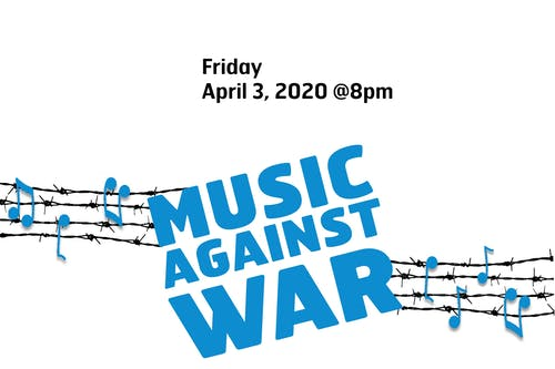 [CANCELLED] Songs Against War