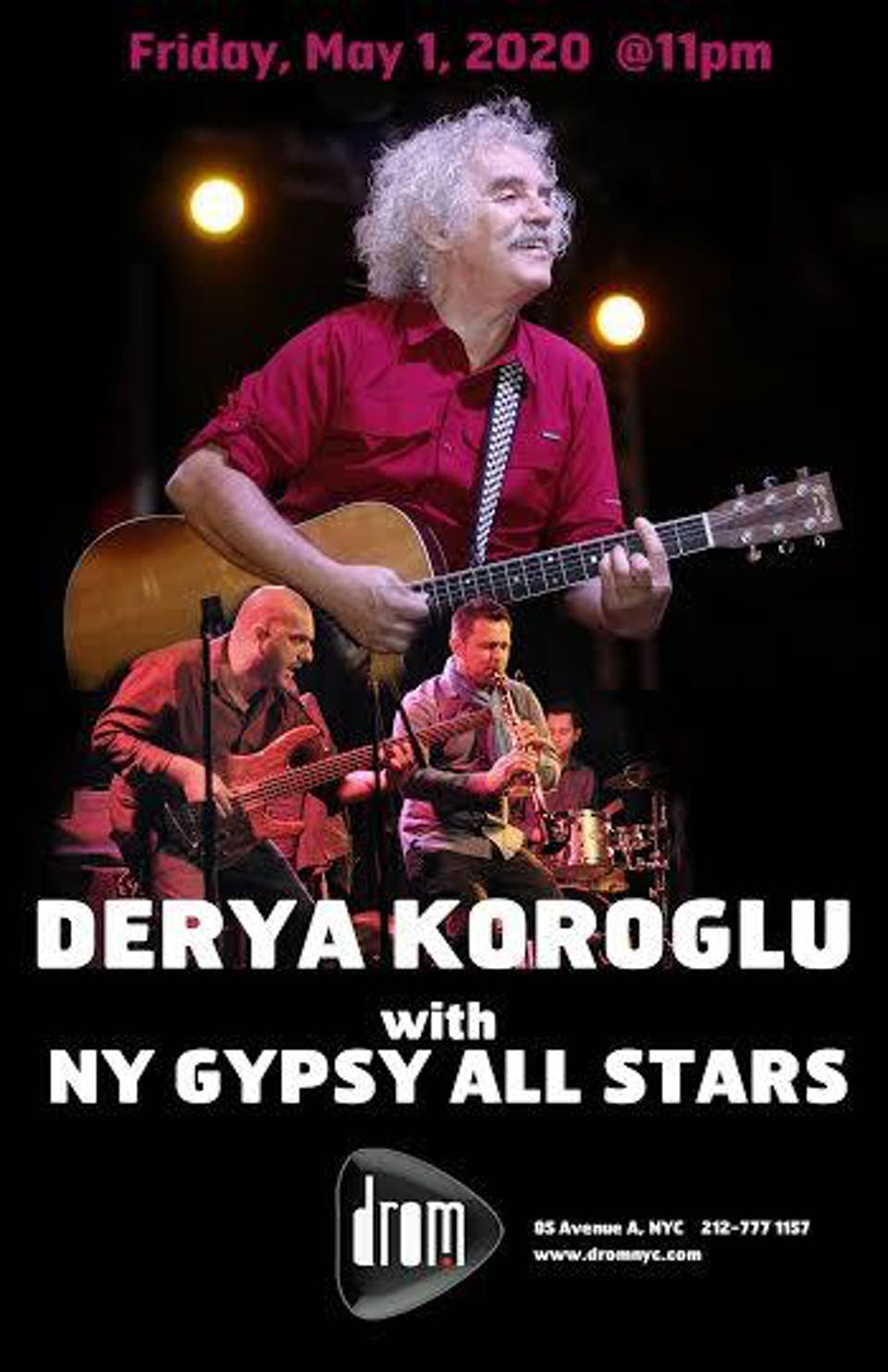 Derya Koroglu with The New York Gypsy All-Stars