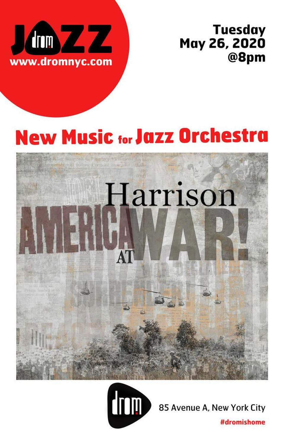 New Music For Jazz Orchestra: America At War