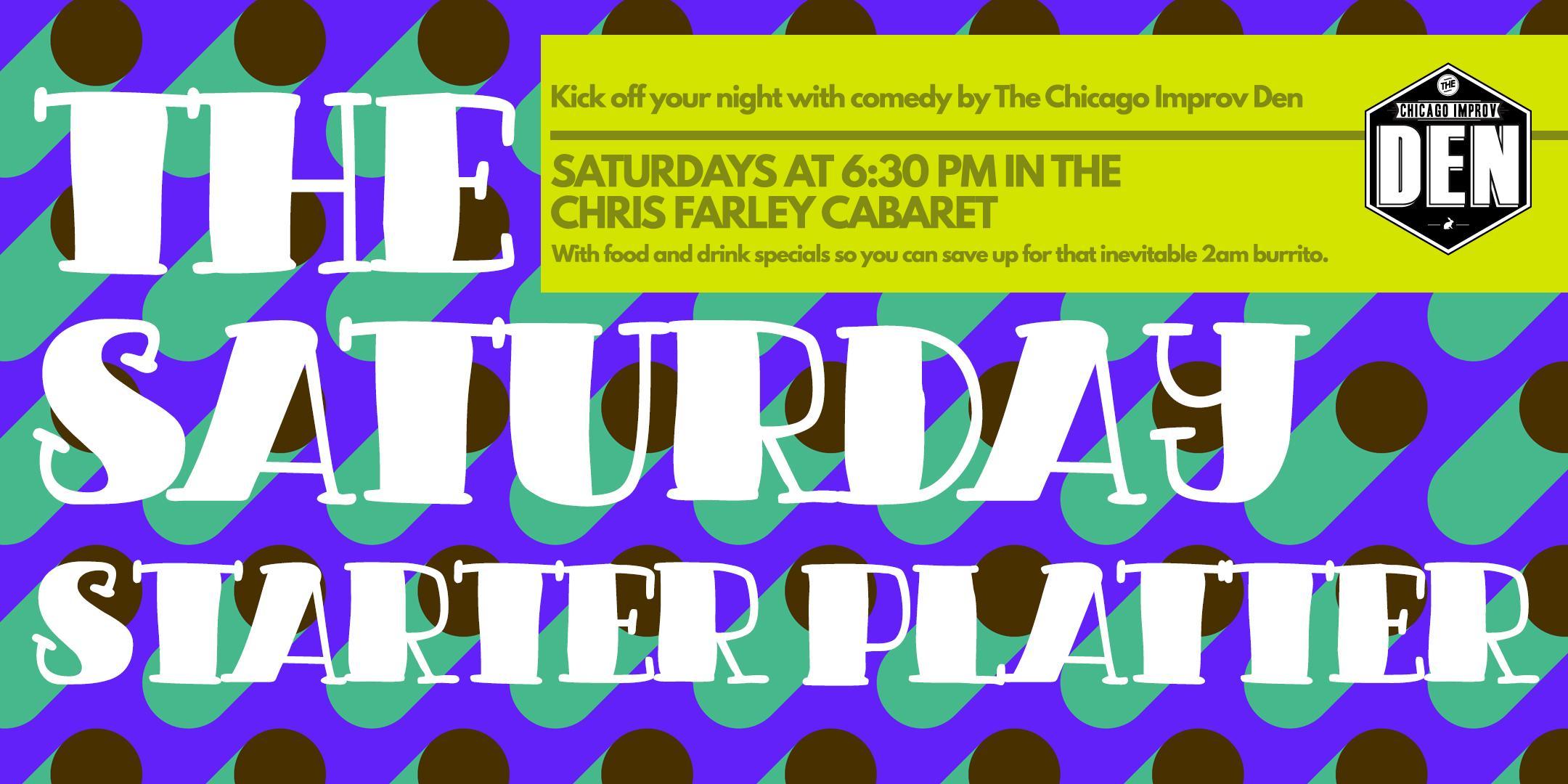 Saturday Starter Platter