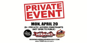 (postponed) Private Event