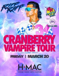 Riff Raff Cranberry Vampire Tour Hits HMAC