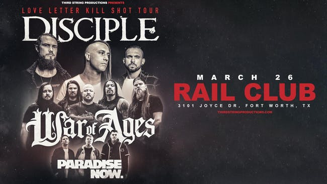 Disciple at The Rail Club