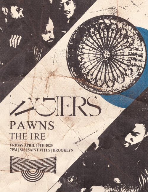 Second night added! Algiers, Pawns, Ire