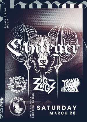 CHARGER with special guests Zig Zags, Daisy Chain, & Tijuana Knife Fight