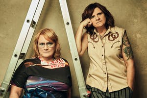 INDIGO GIRLS LOOK LONG TOUR WITH BAND at CHAUTAUQUA AUDITORIUM