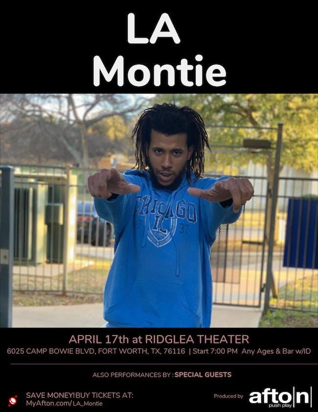 LA Montie, Sage Savage, Denni$ Jame$, and guests at Ridglea Room