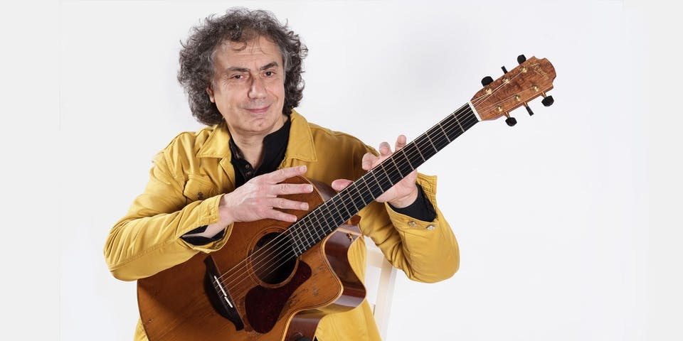 An Evening With Pierre Bensusan Presenting his brand new solo album Azwan