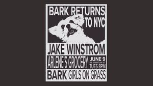 Jake Winstrom, BARK, Girls On Grass and The Virginia Gentlemen at Arlene's!