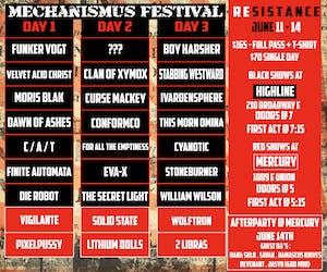 Mechanismus Festival: Resistance