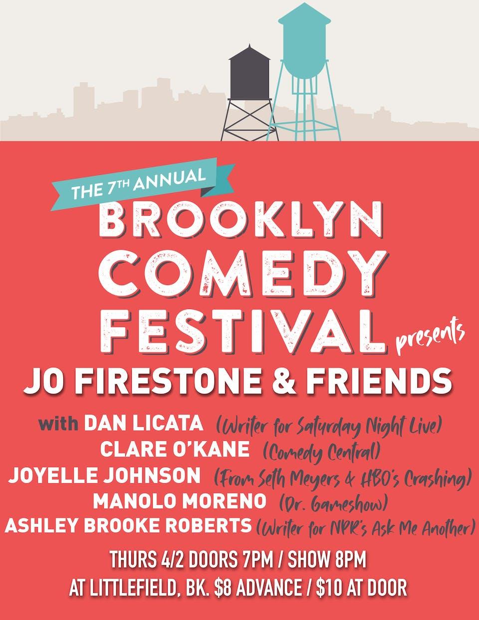 Brooklyn Comedy Festival Presents Jo Firestone & Friends