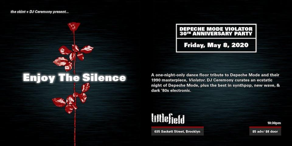Enjoy The Silence: Depeche Mode Violator 30th Anniversary Party