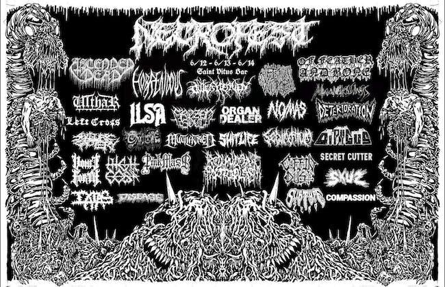 Necrofest '20, Day 2: Of Feather & Bone, Ilsa, & More