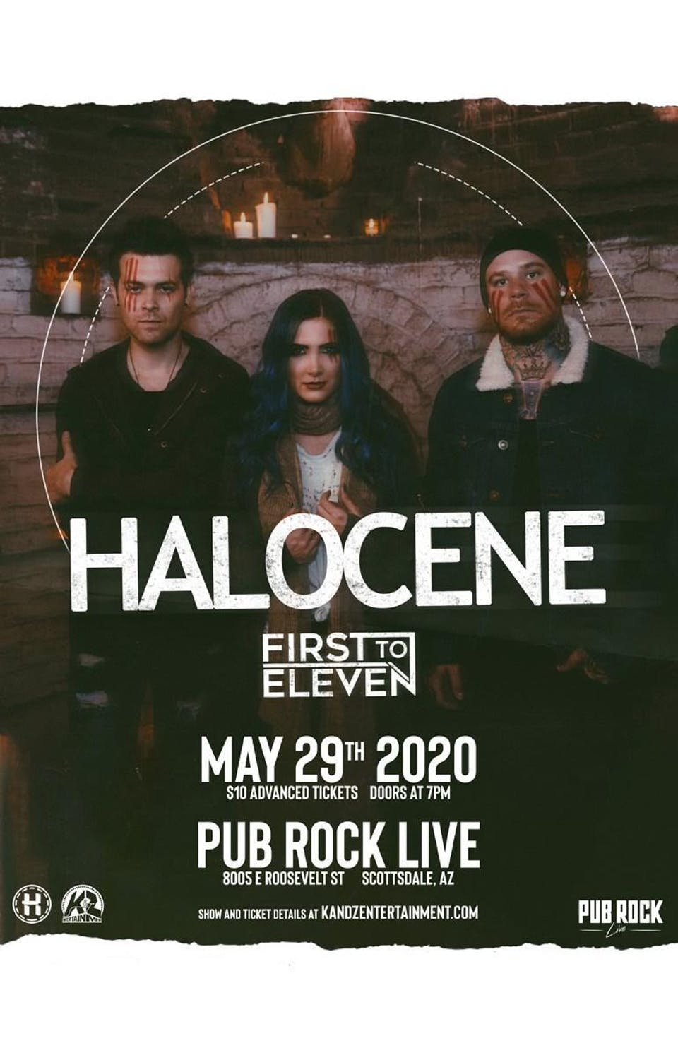 HALOCENE at Pub Rock Live