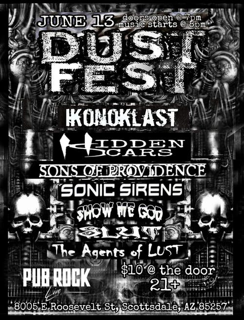 DUST FEST feat. Ikonoklast at Pub Rock Live