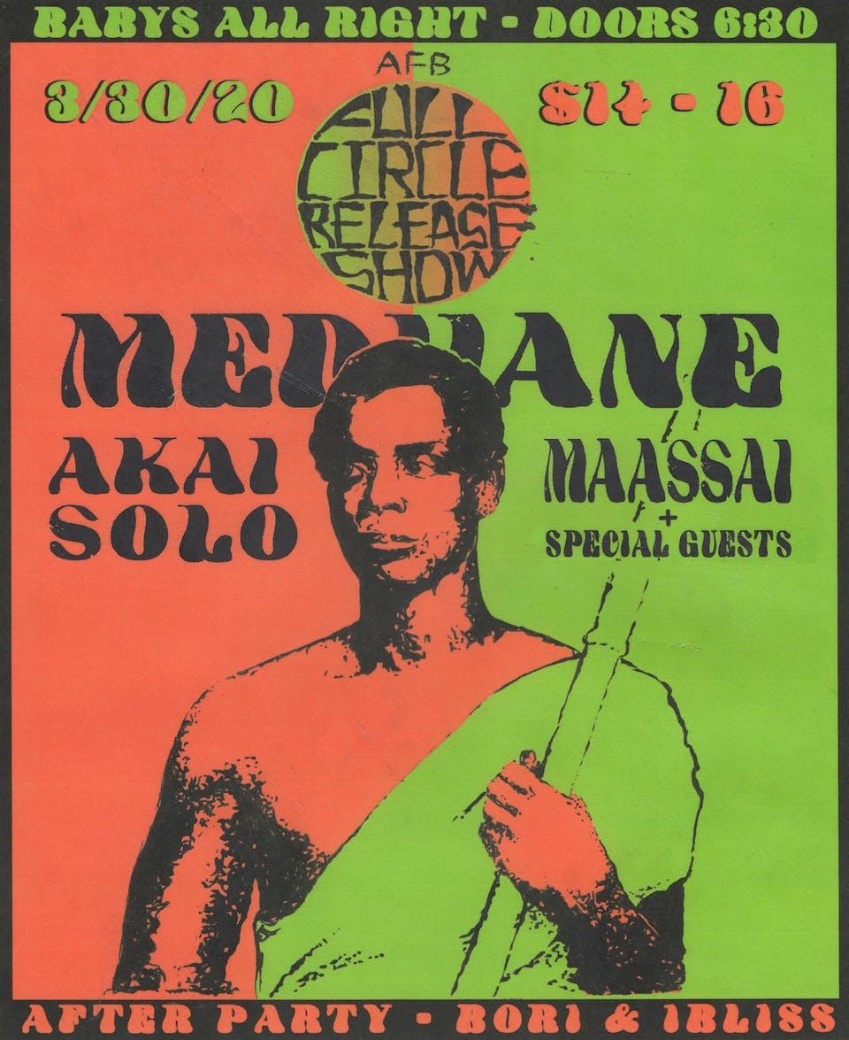 Medhane with Akai Solo and Maassai