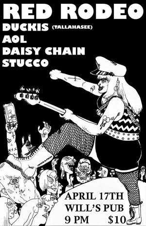 Red Rodeo, Duckis, AOL, Daisy Chain, and Stucco at Will's Pub