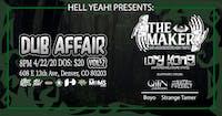 Dub Affair Vol.2 Ft. The Maker & Lory Kong
