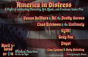 America In Distress. A Night Of Celebrating Diversity And Art