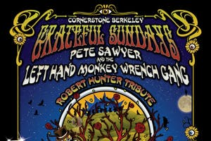 Grateful Sundays w Pete Sawyer & The Left Hand Monkey Wrench Gang + Friends