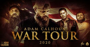 Adam Calhoun WAR TOUR  2020