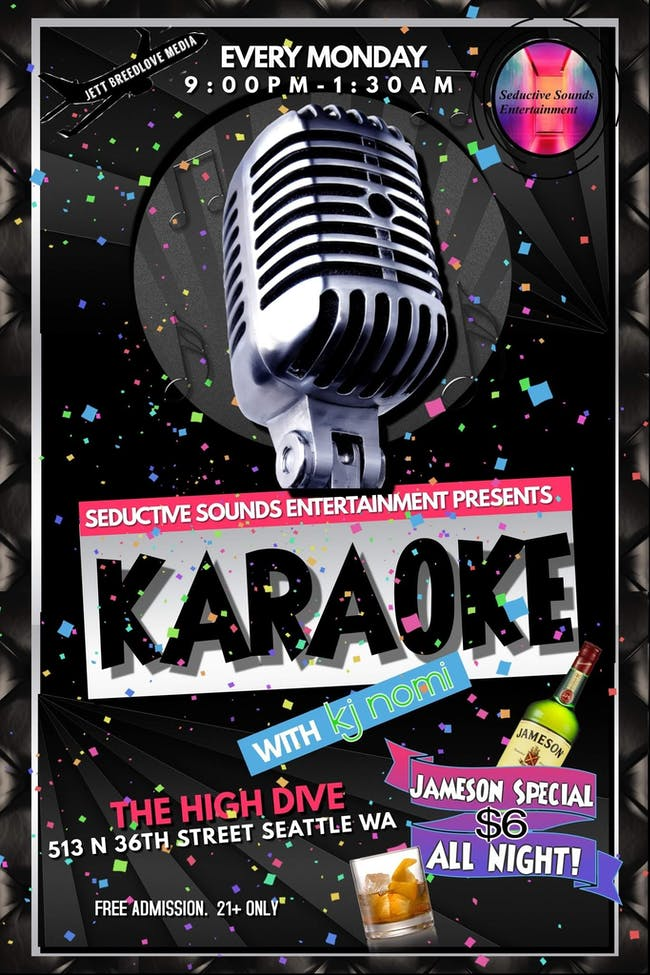 KARAOKE Seductive Sounds Entertainment