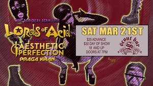 Lords of Acid - show has been  POSTPONED - new date coming soon