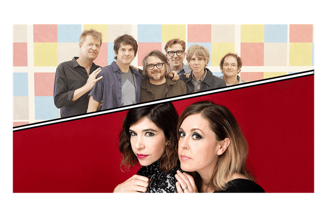 Wilco + Sleater-Kinney: It's Time - Summer 2020 Tour