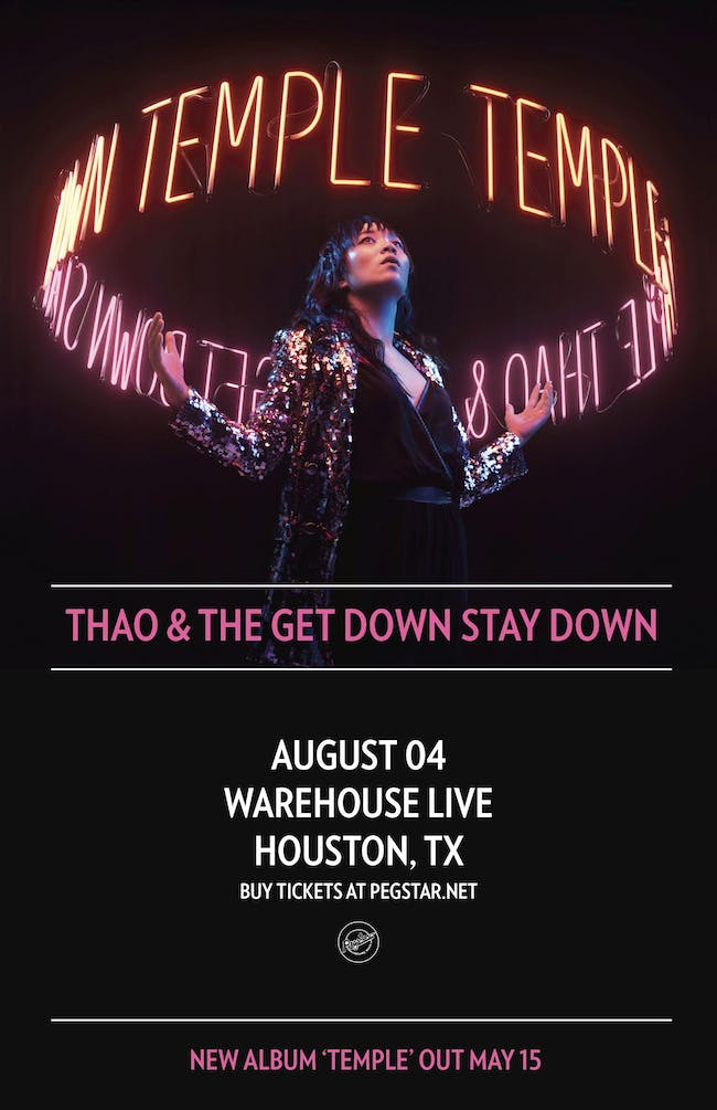 THAO & THE GET DOWN STAY DOWN - THE TEMPLE TOUR