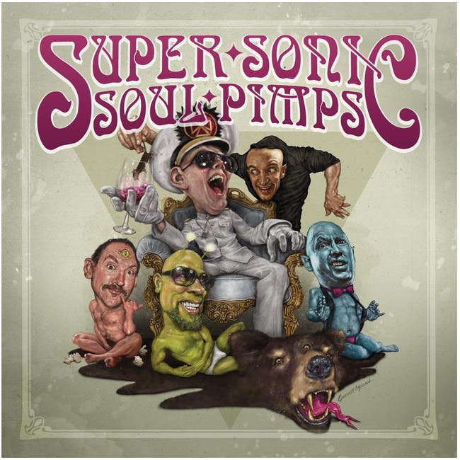 SUPER SONIC SOUL PIMPS with especially unlucky guests Ned Blandski