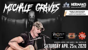 Michale Graves (Misfits Acoustic) *Covid 19 Update** New date coming soon**
