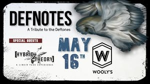 RESCHEDULED: Defnotes: A Tribute To Deftones