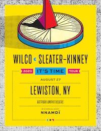 Wilco + Sleater-Kinney at Artpark Amphitheatre
