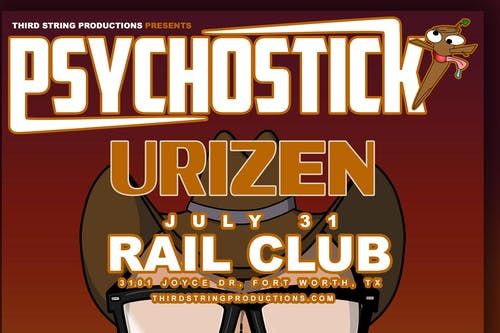 Psychostick w/ Urizen at The Rail Club