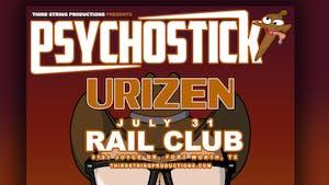 Psychostick w/ Urizen at The Rail Club