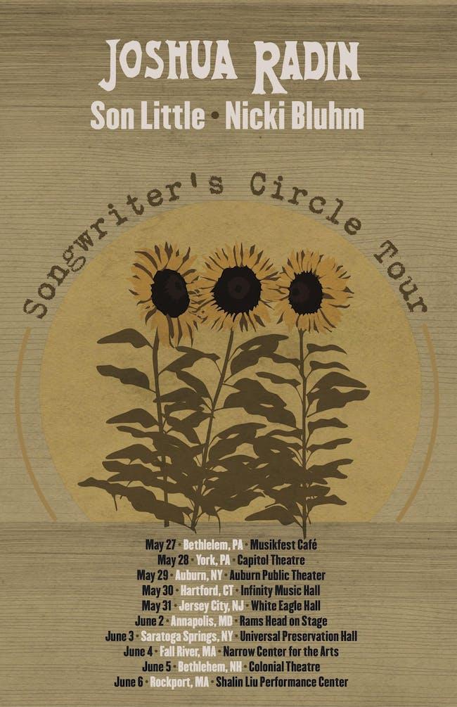 Songwriter Circle feat. Joshua Radin, Son Little, and Nicki Bluhm
