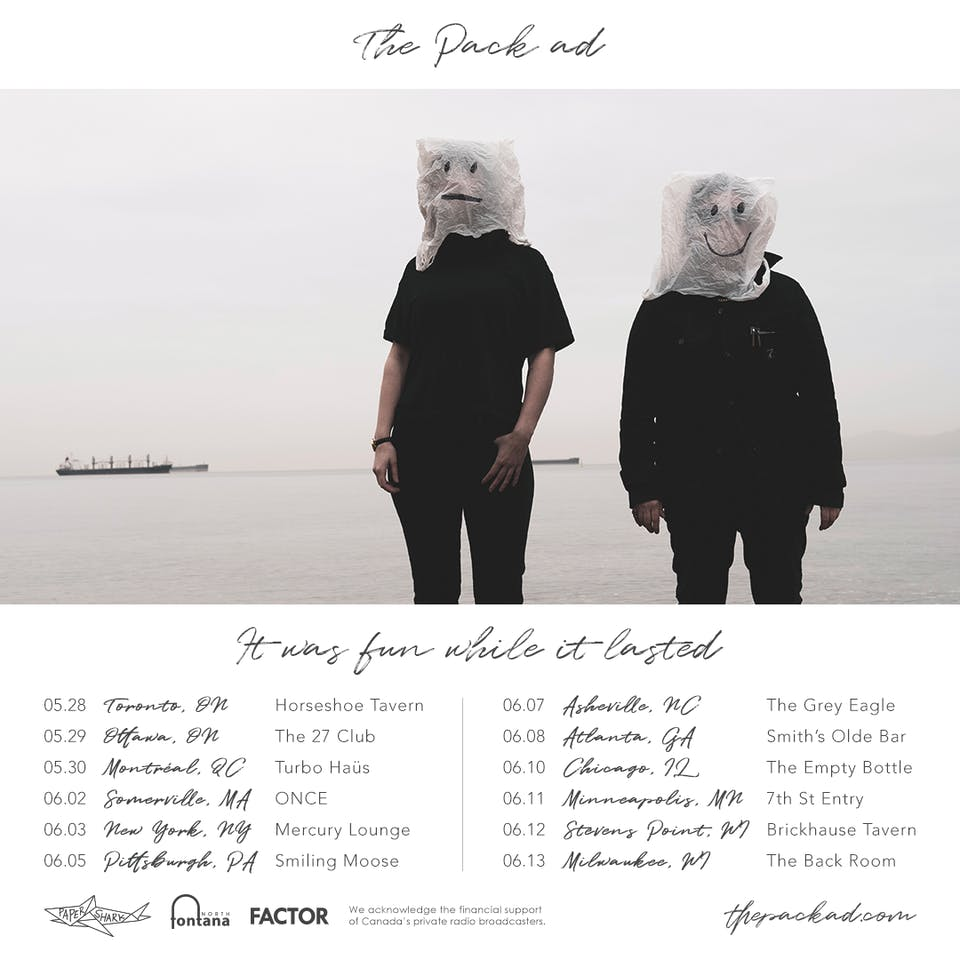 New Date - The Pack A.D. at ONCE Ballroom