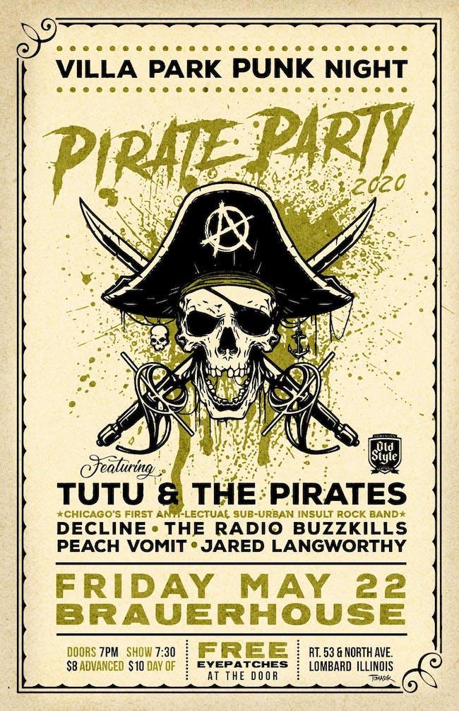 VP Punk Night Pirate Party II