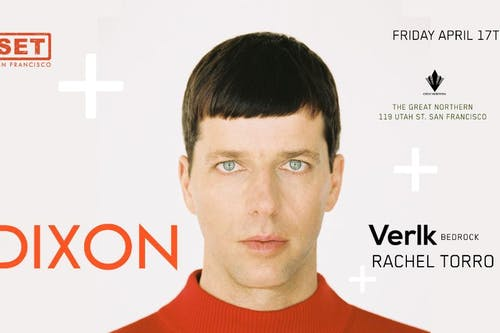 CANCELED - SET with Dixon (Innervisions) at The Great Northern