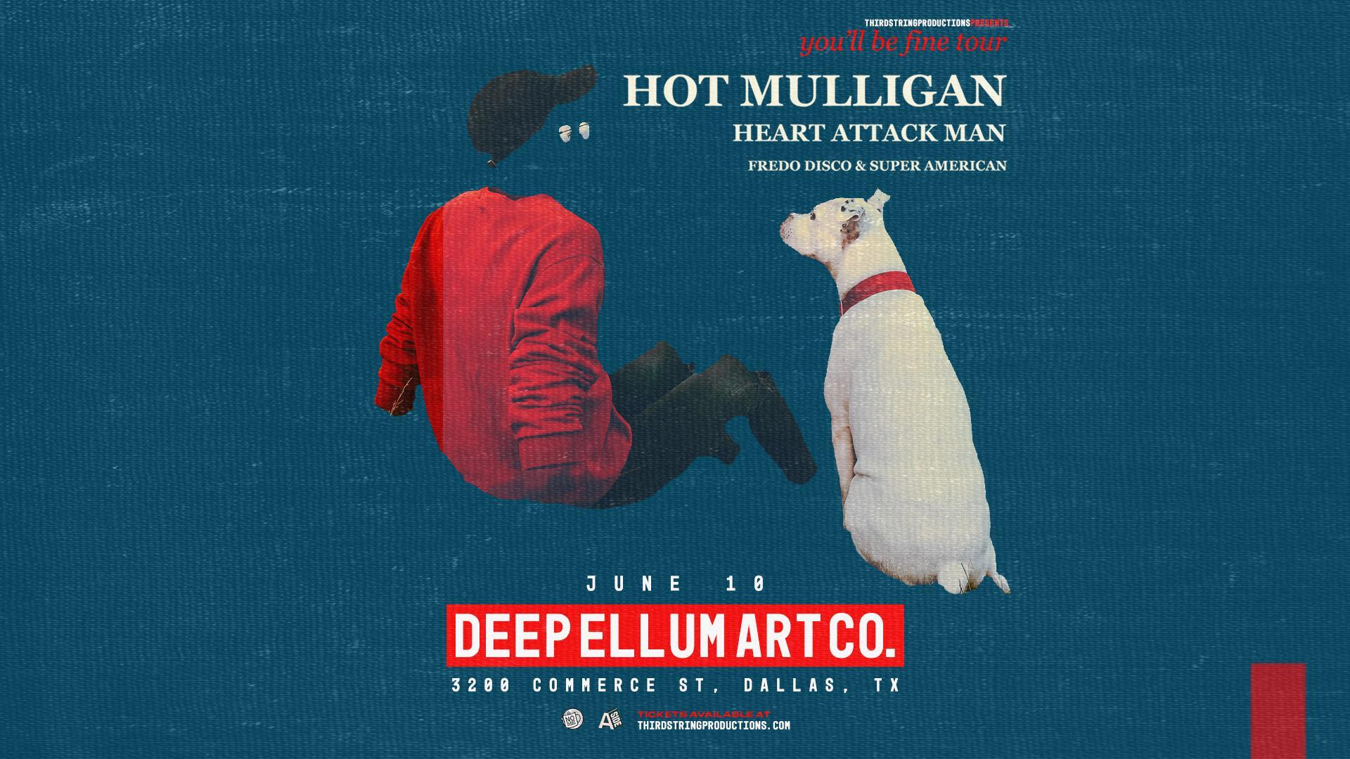 Hot Mulligan at Deep Ellum Art Co.