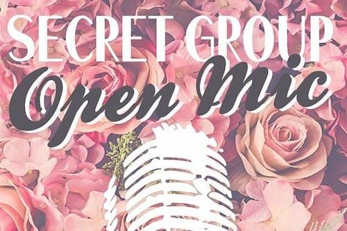 The Secret Group Open Mic