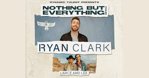 Ryan Clark  (Band) with Lance and Lea - NEW DATE Fri. Jul. 10, 2020