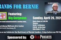 Bands For Bernie feat. Big Gorgeous and more.