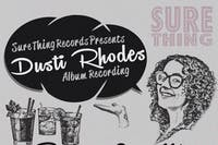 Dusti Rhodes Album Recording! First Showing