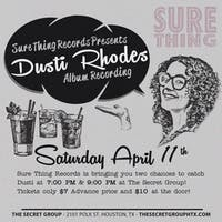 Dusti Rhodes Album Recording! First Showing