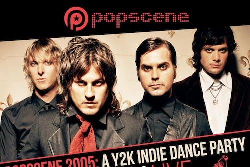 Popscene 2005: A Y2K Indie Dance Party ft. Louis XIV (Live)
