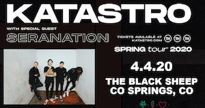 CANCELLED - Katastro w/ Seranation and Special Guests at THE BLACK SHEEP