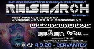 RESCHEDULED - RE:Search ft Phutureprimitive w/ Liquid Bloom, Potions